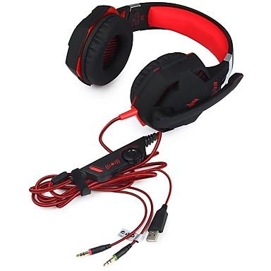 voordelige Gaming-oordopjes-KOTION EACH G2100 Gaming Headset Bekabeld Gaming met microfoon