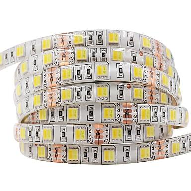 voordelige Autobinnenverlichting-ziqiao dc12v led met licht 5 m / hand 300 leds led-band 5050smd flexibele waterdichte led lamp decoratieve lamp 5050 led strip licht