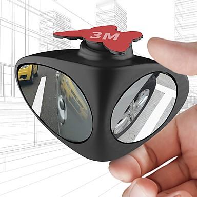 billige Bilutvendig tilbehør-2 i 1 360 graders rotasjon dobbeltsidig blindspeil som reverserer parkeringshjelp bilens bakspeil