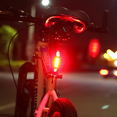 cheap Bike Lights-LED Bike Light Rechargeable Bike Light Set Front Bike Light Rear Bike Tail Light Cycling Waterproof Portable Quick Release 1000 lm Rechargeable Power White Red Cycling / Bike / Safety Light