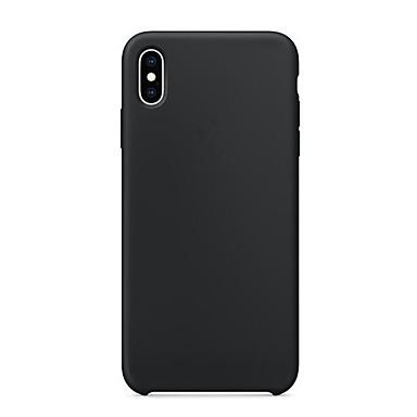 caz pentru appleiphone xr xs xs xs max ultra-subțire / mată spate cover solid tpu soft pentru iphone x 8 8 plus 7 7plus 6s 6s plus se 5 5s