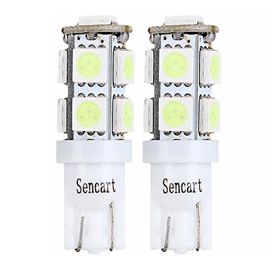 SENCART 4pcs T10 / BA9S Motorcykel / Bilar Glödlampor 2 W SMD 5050 120 lm 9 LED Blinkers / Baklykta / innerbelysningen Till