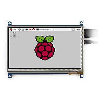 800x480, χωρητική οθόνη αφής 7 ιντσών lcd, διασύνδεση hdmi, υποστηρίζει διάφορα συστήματα