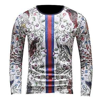 00fd824055ae Χαμηλού Κόστους Ανδρικά μπλουζάκια και φανελάκια-Ανδρικά Μεγάλα Μεγέθη  T-shirt Κλαμπ Ενεργό