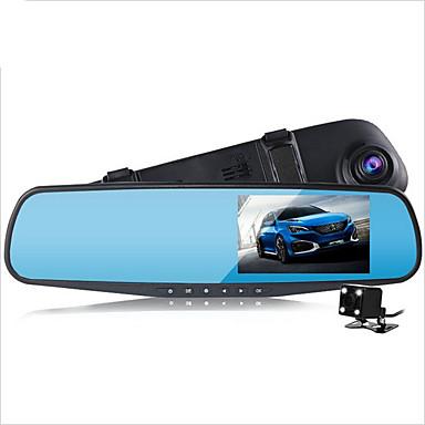 D790s 1080p Automobile DVR 140 Gradi Angolo ampio 4.3 pollice Dash Cam con G-Sensor / Modalità parcheggio assistito / Rilevatore di movimento No Registratore per auto / auto on / off / Microfono