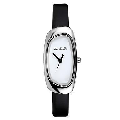 5c6beca0004d abordables Relojes de Mujer-Mujer Reloj de Vestir Reloj de Pulsera Reloj  cuadrado Cuarzo Cuero