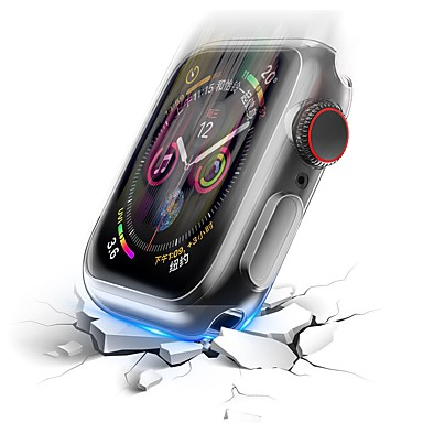voordelige Smartwatch-accessoires-hoesje Voor Apple Apple Watch Series 4 Siliconen Apple