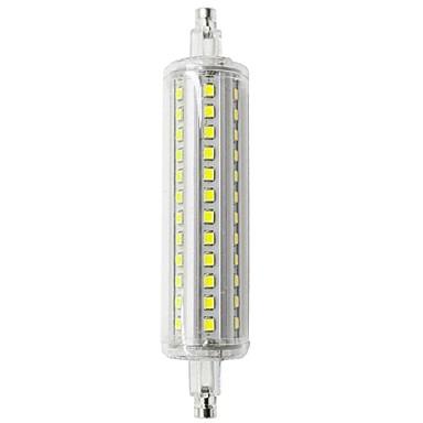 sencart 1pc 10 w 800 lm r7s rörlampor 118mm 72 leds smd 2835 dekorativ varmvit / kall vit 85-265 v