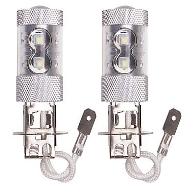voordelige Automistlampen-OTOLAMPARA 2pcs H9 / H7 / H3 Automatisch Lampen 50 W Krachtige LED 2060 lm 10 LED Mistlamp Voor Volkswagen Montan / Rogue / Montego 2018