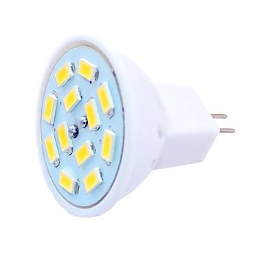 SENCART 6pcs 1.5 W LED-spotlights 450 lm G4 MR11 MR11 12 LED-pärlor SMD 5730 Dekorativ Varmvit Kallvit 12-24 V