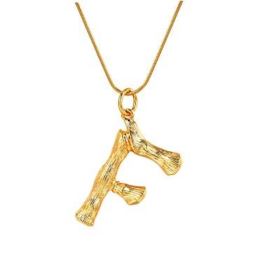 Women s Name Pendant Necklace - Alphabet Shape Trendy 274c3def27