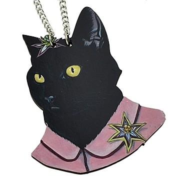 černá jamacian kočička