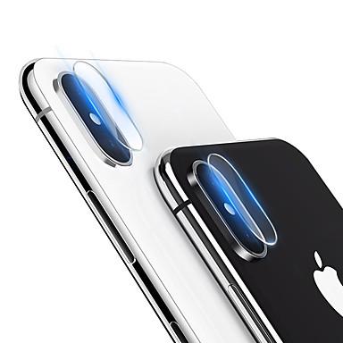 voordelige iPhone screenprotectors-AppleScreen ProtectoriPhone X High-Definition (HD) Camera Lens Protector 1 stuks Gehard Glas