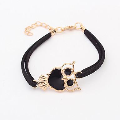 Women's Vintage Style Bracelet - Owl Simple, Classic, European Bracelet Jewelry Purple / Red / Blue For Daily