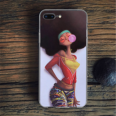 voordelige iPhone 5 hoesjes-hoesje Voor Apple iPhone XS / iPhone XR / iPhone XS Max Patroon Achterkant Sexy dame / Cartoon Zacht TPU