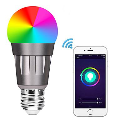 E27 LED Smart WIFI Bulbs 22 LED Beads SMD 5730 Works With Amazon Alexa / APP Control / Google Home RGBW 85-265V