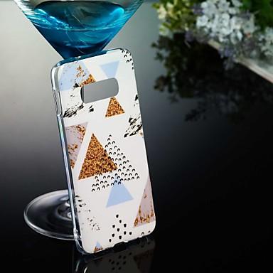 billige Galaxy S3 Etuier / Covere-Etui Til Samsung Galaxy S9 / S9 Plus / S8 Plus Mønster Bakdeksel Marmor Myk TPU