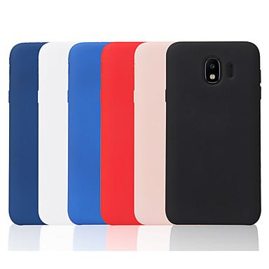 billige Nyheder-Etui Til Samsung Galaxy J7 (2017) / J2 PRO 2018 Syrematteret Bagcover Ensfarvet Blødt TPU for J8 (2018) / J7 Prime / J7 (2017)