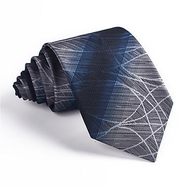 abordables Ropa de Moda Hombres-Hombre Corbata - Fiesta / Trabajo Estampado / Jacquard