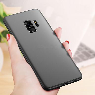 voordelige Galaxy A-serie hoesjes / covers-hoesje Voor Samsung Galaxy A6+ (2018) / A8 2018 / A8+ 2018 Ultradun / Mat Achterkant Effen Zacht TPU