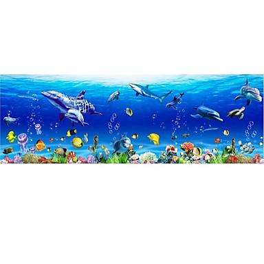 8 39 Dekorative Wand Sticker Tier Wandaufkleber Landschaft Tiere Drinnen Kinderzimmer