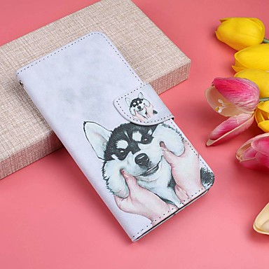 Case For Huawei P20 Pro / P20 lite Wallet / Card Holder / with Stand Full Body Cases Dog Hard PU Leather for Huawei P20 / Huawei P20 Pro / Huawei P20 lite
