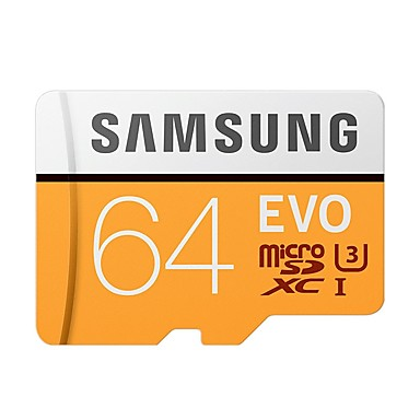 billige Hukommelseskort-SAMSUNG 64GB Micro SD kort TF Card hukommelseskort Class10 U3 C10 4K EVO plus