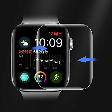 Недорогие Защитные пленки для Apple Watch-Защитная плёнка для экрана Назначение Apple Watch Series 4 PET HD / Ультратонкий 1 ед.