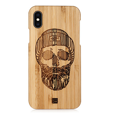 voordelige iPhone 6 Plus hoesjes-hoesje Voor Apple iPhone XS / iPhone XR / iPhone XS Max Reliëfopdruk Achterkant Cartoon Hard Puinen