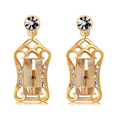 d856a8e623e5 Precio · Liquidación · Liquidación · abordables Joyería para Mujer-Mujer  Claro Cristal Pendientes colgantes cuelga los pendientes Chapado en Oro