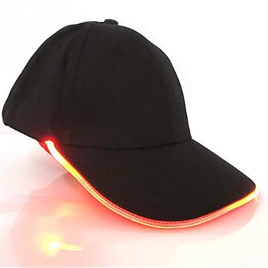 Недорогие Оригинальные гаджеты-новинка новый дизайн светодиодное освещение шляпа украшение партии бейсбол хип-хоп свет шапки регулируемая ткань шляпа светящиеся колпачок