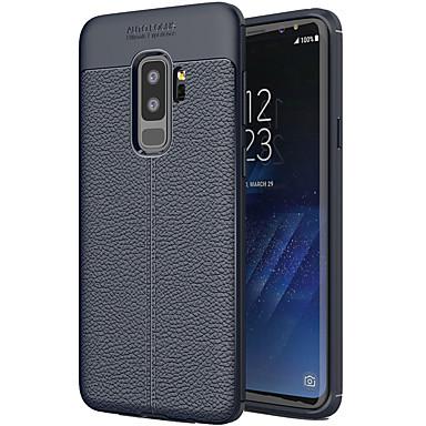 voordelige Galaxy S-serie hoesjes / covers-hoesje Voor Samsung Galaxy S9 Plus Mat Achterkant Effen Zacht TPU