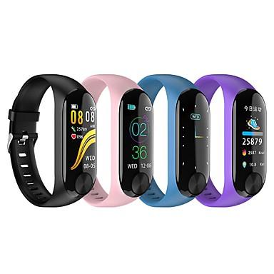 Недорогие Смарт-электроника-KUPENG Y10 Женский Умный браслет Android iOS Bluetooth Водонепроницаемый Сенсорный экран Пульсомер Измерение кровяного давления Израсходовано калорий