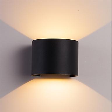 economico Luci per interni-ONDENN Impermeabile / Nuovo design LED / Contemporaneo moderno Lampade da parete Al Coperto / All'aperto Alluminio Luce a muro IP67 85-265V 10 W