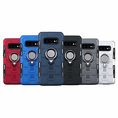 Недорогие Чехлы и кейсы для Galaxy S-Кейс для Назначение SSamsung Galaxy S9 / S9 Plus / S8 Plus со стендом / Кольца-держатели Кейс на заднюю панель броня Твердый пластик