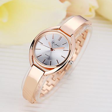ieftine Ceasuri Damă-Pentru femei Quartz Quartz Stl Argint / Roz auriu Model nou Ceas Casual Analog Modă Elegant - Negru / Argintiu Roz auriu Auriu+Negru Un an Durată de Viaţă Baterie