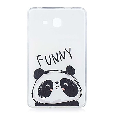 voordelige Samsung Tab-serie hoesjes / covers-hoesje Voor Samsung Galaxy Tab A 7.0 (2016) Patroon Achterkant Panda Zacht TPU