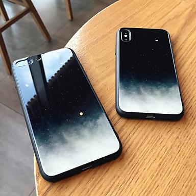 voordelige iPhone 6 hoesjes-hoesje Voor Apple iPhone XS / iPhone XR / iPhone XS Max Spiegel Achterkant Hemel Hard Gehard glas