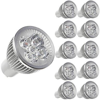 billige LED-lyspærer-10pcs 5 W LED-spotlys 450 lm E14 GU10 GU5.3 5 LED Perler Højeffekts-LED Dekorativ Varm hvid Kold hvid 85-265 V / 10 stk. / RoHs