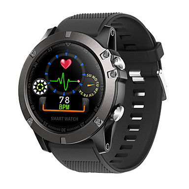 7e58387e0e389f cheap Smart watches-DS102 Men Smartwatch Android iOS Bluetooth Waterproof  Touch Screen Heart Rate Monitor