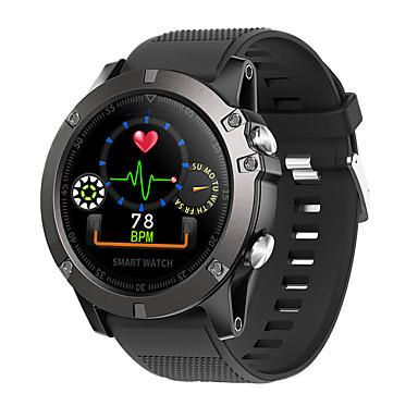 זול שעונים חכמים-DS102 גברים חכמים שעונים Android iOS Blootooth עמיד במים מסך מגע מוניטור קצב לב מודד לחץ דם ספורטיבי ECG + PPG מד צעדים מזכיר שיחות מד פעילות מעקב שינה