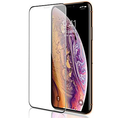 Недорогие Защитные плёнки для экрана iPhone-AppleScreen ProtectoriPhone XS Бриллиантовый блеск Защитная пленка на всё устройство 1 ед. Закаленное стекло