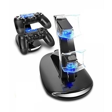 olcso PS4 kiegészítők-töltőállomás tartós led jelzőfények játékvezérlő töltő készlet PS4 / ps4 karcsú / ps4 pro számára