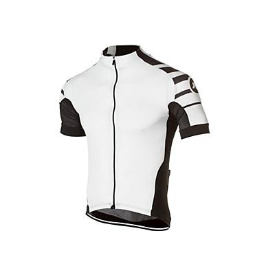 voordelige Motorjacks-2016 verscheidenheid van zomer nieuwe heren rijden korte mouwen ademend wicking sneldrogend fietsshirt shirt polyester stof