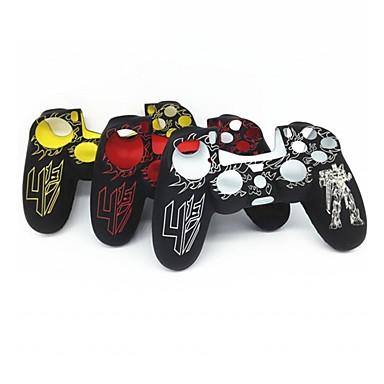 olcso Videojáték tartozékok-személyre szabott védőburkolat szilikon játékvezérlő burkolatvédő a PS4 / sony PS4 tartós ps4 fogantyúhoz
