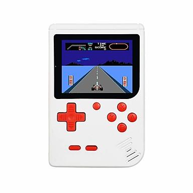 olcso Videojáték tartozékok-fc280 retro kézi játékjátékos gyerekeknek hordozható játékrendszer videojáték-lejátszó 3 hüvelykes lcd beépített 400 klasszikus játék