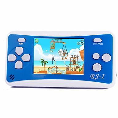 olcso Játékkonzolok-rs-1 kézi játékgép gyerekeknek hordozható játékrendszer videojáték-lejátszó 2,5 lcd beépített 152 klasszikus játék