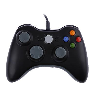 olcso Xbox 360 tartozékok-usb vezetékes joypad gamepad vezérlő xbox 360-hoz pc részére Windows7 joyst