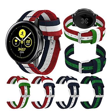 voordelige Horlogebandjes voor Samsung-Horlogeband voor Gear Sport / Gear S2 Classic / Samsung Galaxy Active Samsung Galaxy Sportband Stof / Nylon Polsband