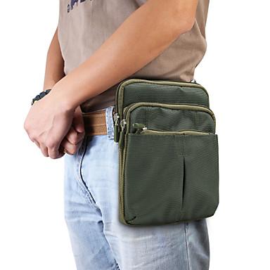 Недорогие Чехлы и кейсы для Nokia-Кейс для Назначение Blackberry / Apple / SSamsung Galaxy Универсальный Бумажник для карт Поясные сумки Однотонный Мягкий Полиэстер